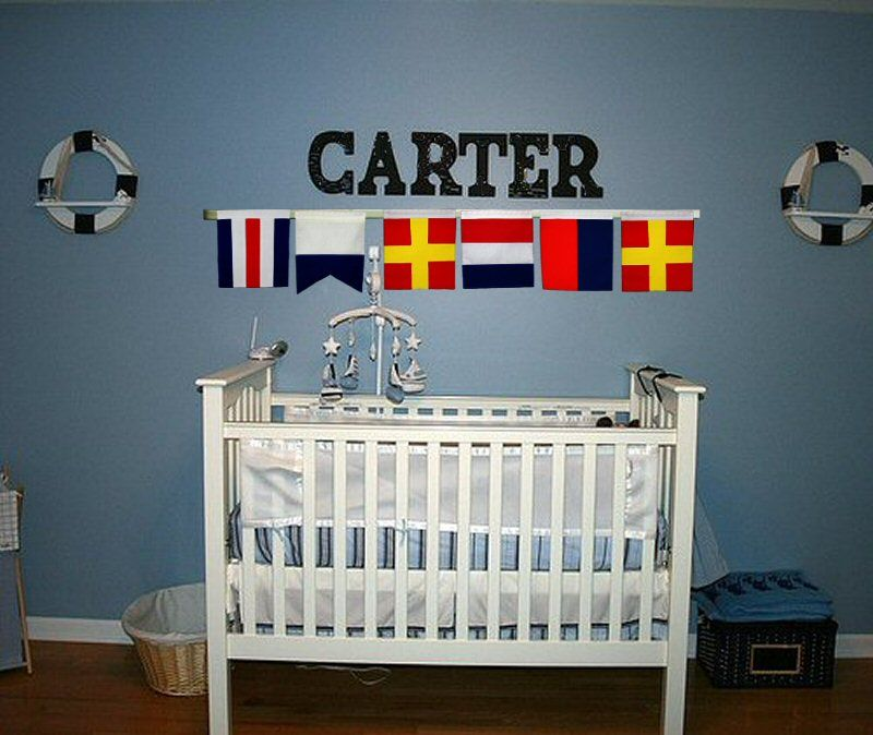 Decorating A Nursery- Nautical Style