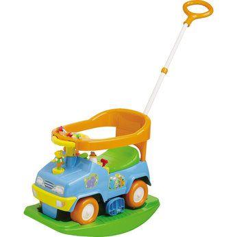 Bruin 4-in-1 Activity Rocker Ride-On | Baby soft toys, Toy ...