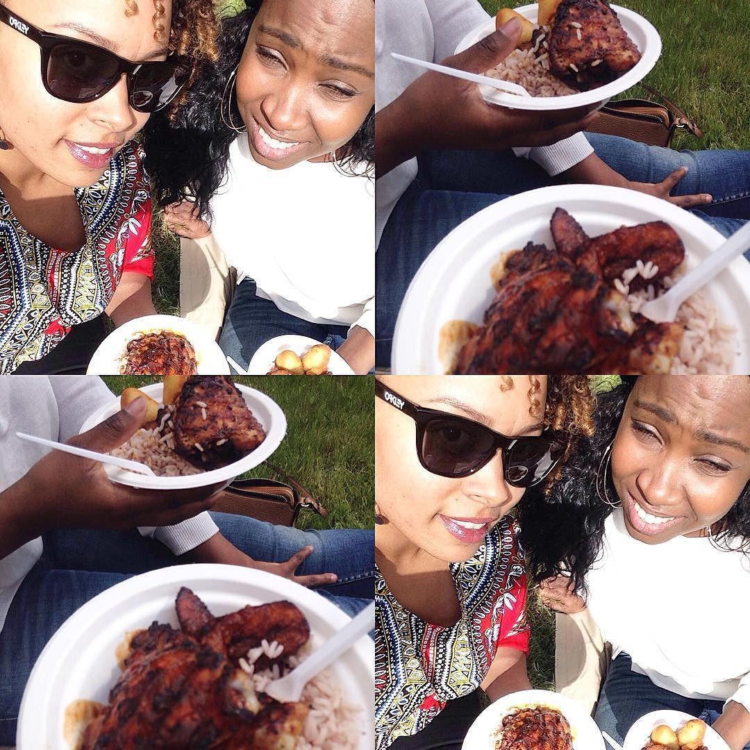 Jamaican Jerk fest #ravintolapäivä #restaurantday #foodie #jamaicanfood #welovefood #realwomeneat #sogood #goodmusic #enjoyinglife #withmybestie  by priscillajanem