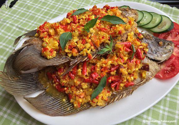 Rasamasa Pecak Ikan Gurami Resep Ikan Masakan Makanan