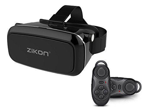 Zikon 3d Vr Headset Glasses Virtual Reality Mobile Phone 3d Movies