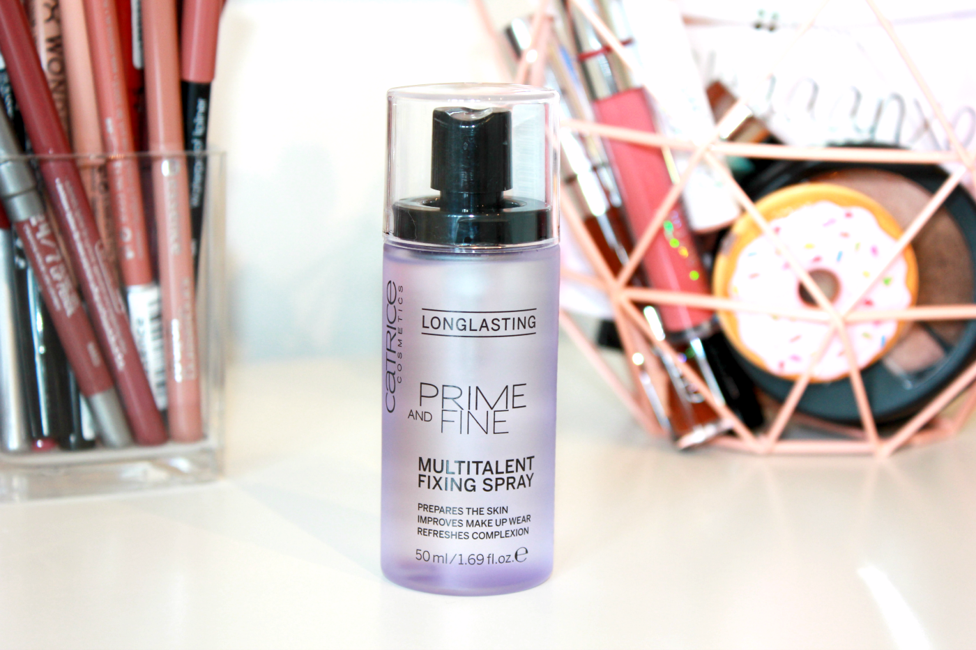 Prime And Fine Dewy Glow Finish Spray - llluminating by Catrice Cosmetics #5