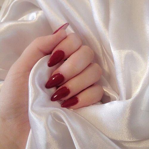 Imagen De Nails Red Nails Cute Nails Pretty Nails
