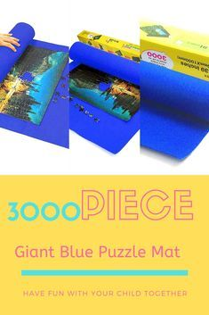Giant Blue Puzzle Mat 3000piece have fun with your children together using this cheap giant bluye puzzle mat