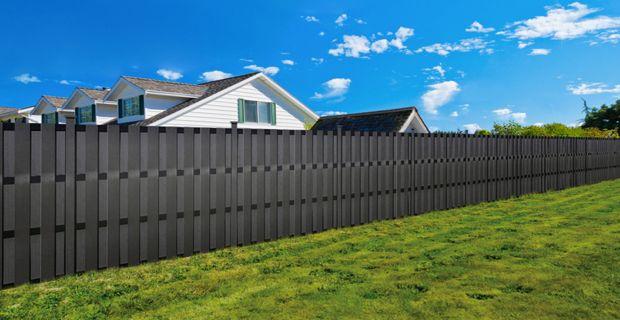 Gunstige Verbund Zaun Hergestellt Wird Langsam Eine Attraktive