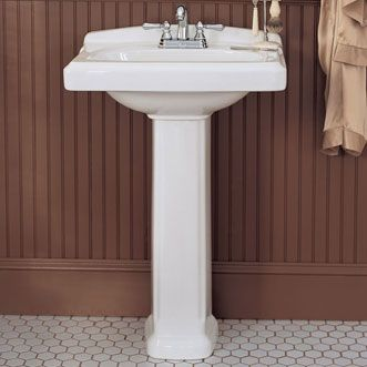 Williamsburg Pedestal Sink American Standard 227 At Efaucet