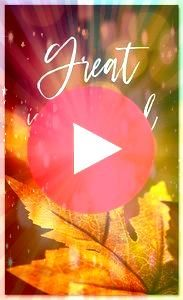 Harvest Great is the Lord  HB183B xw  Fall Harvest Great is the Lord  HB183B xw  Fall Harvest Great is the Lord  HB183B xw  The Rejoice in the Lord Thanksgiving church ba...