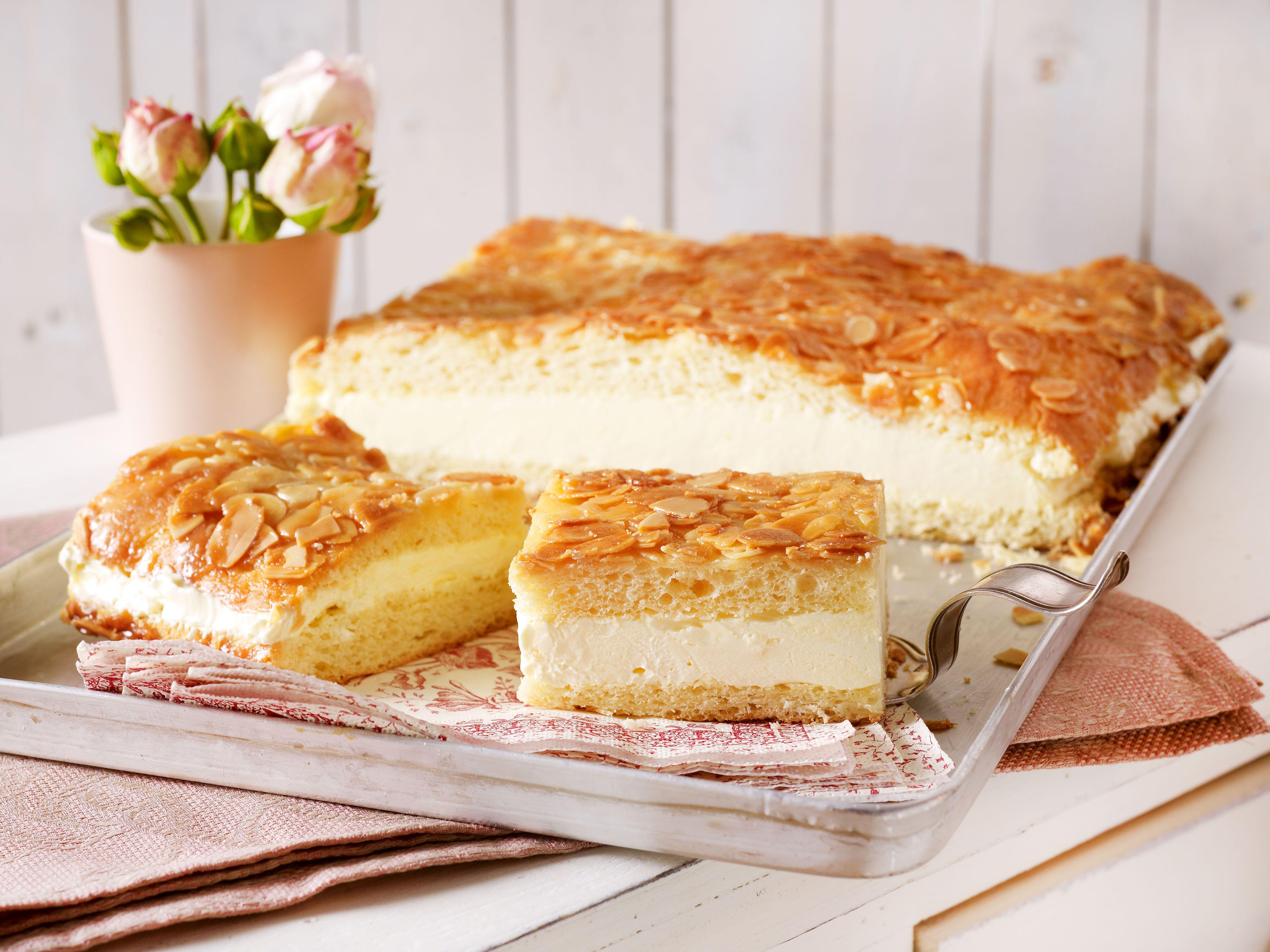 Bienenstich Rezept Zum Selbermachen Bienenstich Rezept Kuchen Und Torten Und Kuchen Ohne Backen
