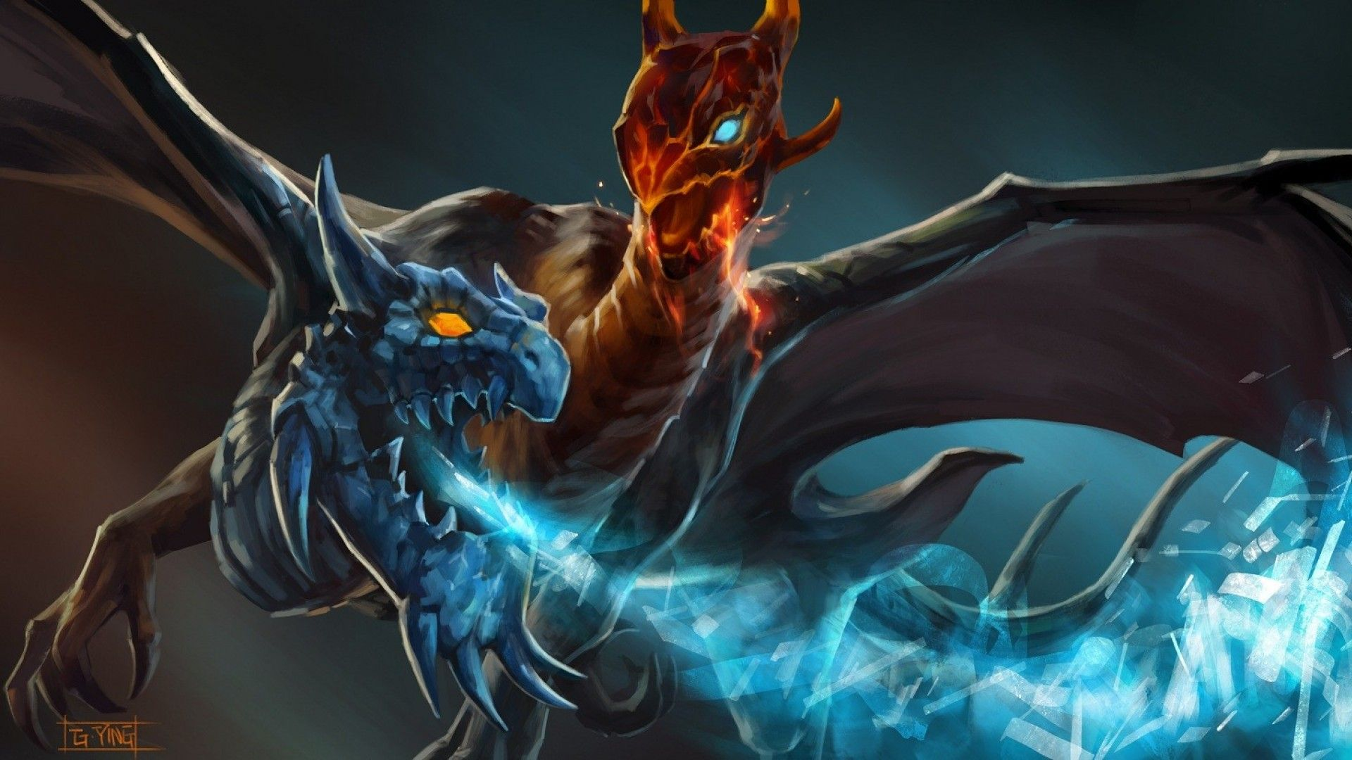 dota 2 jakiro wallpapers dota 2 pinterest wallpaper