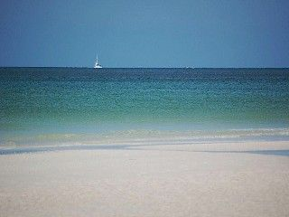 Overlooking Private Beach On Siesta Key