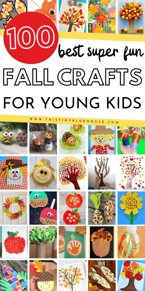 99+ Best Fun Fall Crafts For Kids