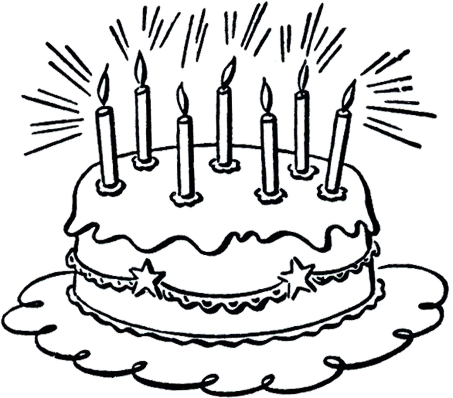 7 Birthday Cake Images Birthday Cake Clip Art Art Birthday Cake Birthday Cake Illustration