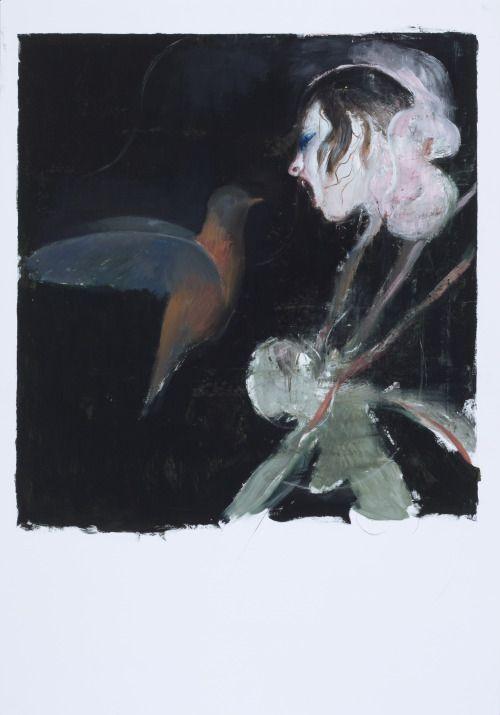 2013. 100 x 70 cm. Oil on paper.