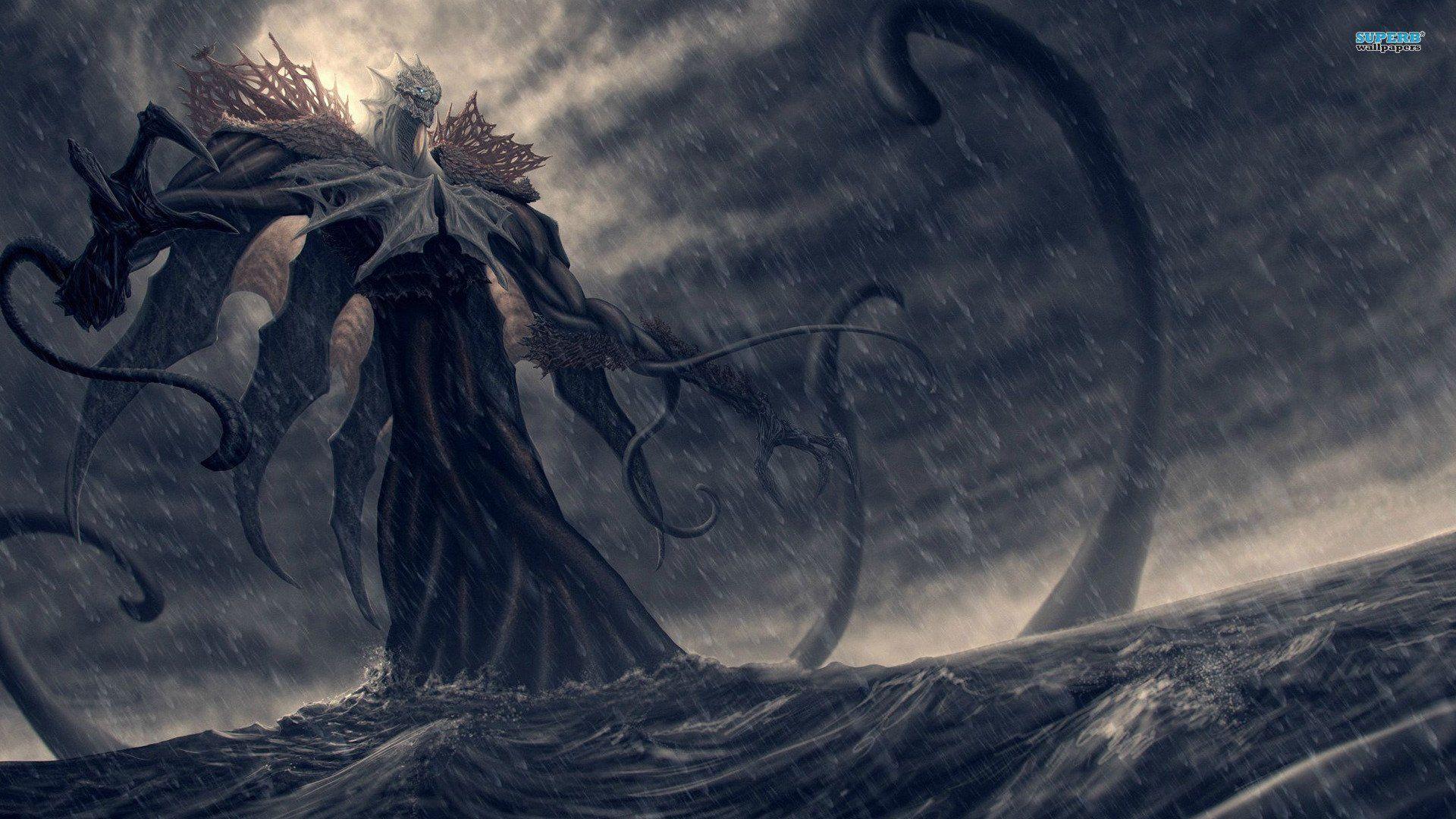 Fantasy Sea Monster Wallpaper Monster Pictures Ocean Monsters Dark Fantasy Art