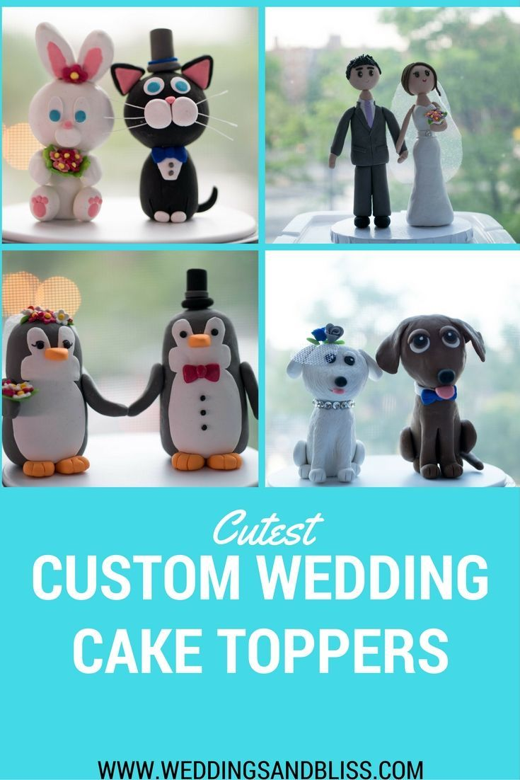 Looking for a custom wedding cake topper that perfectly captures you