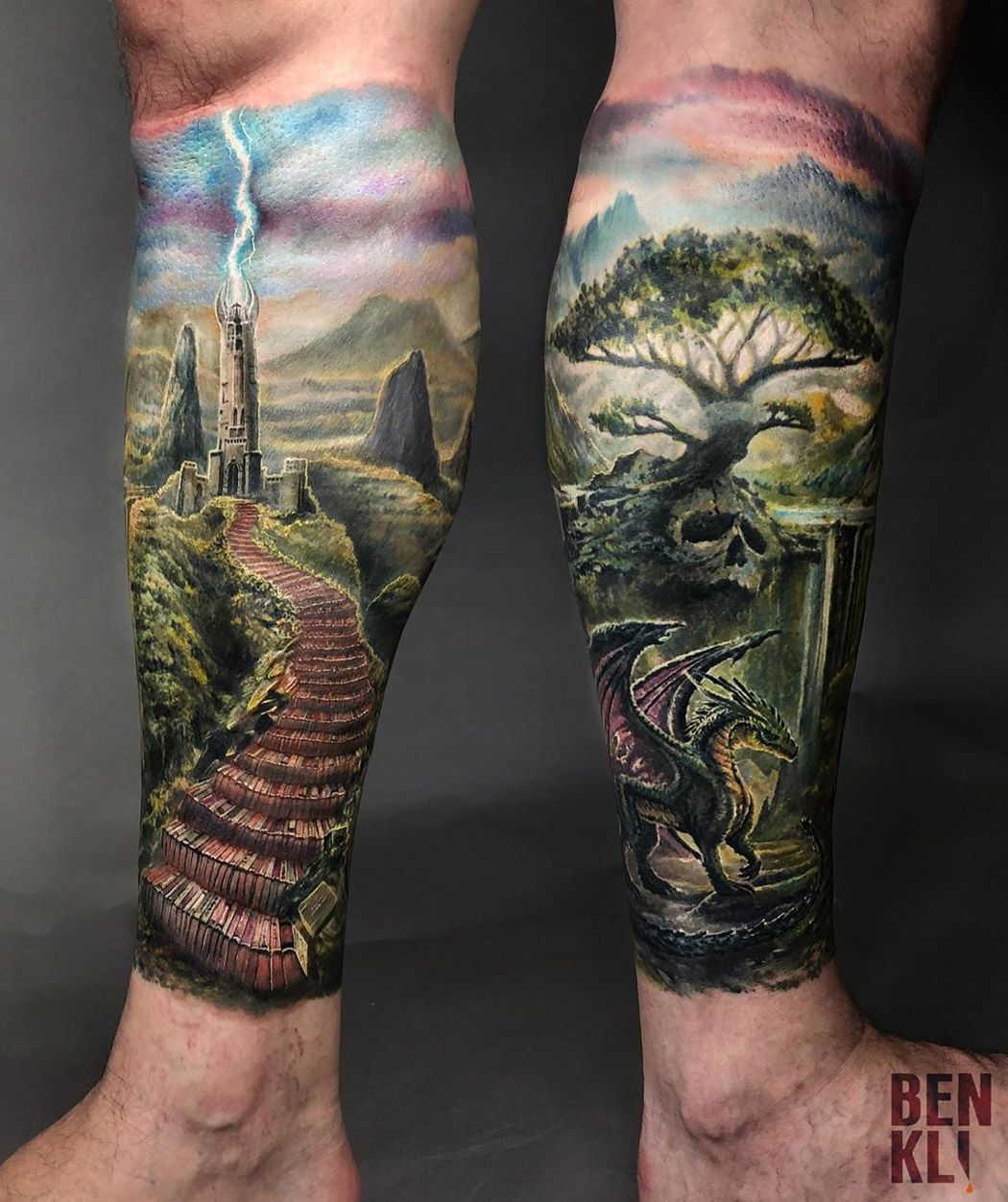 Fantasy World In 2020 Best Tattoo Designs Tattoos Worlds Best Tattoos