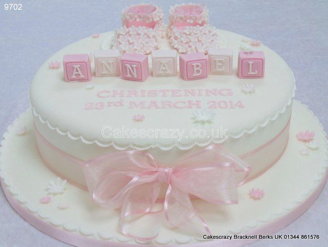 Pin by Ivka on Cake Pinterest Christening cakes ...