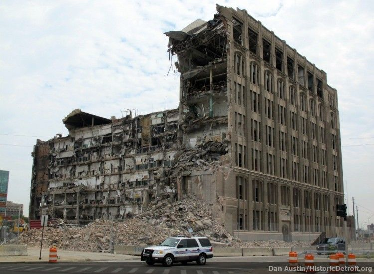 Cass Tech Hs My Dad S High School In Detroit Demolished