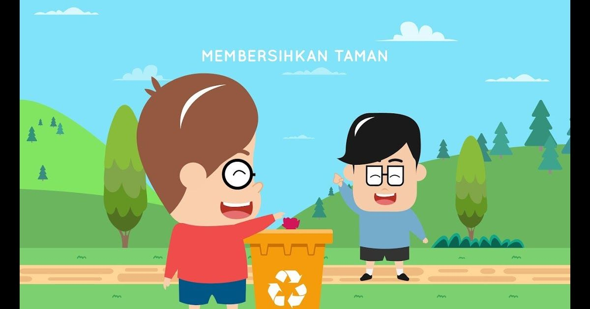 20 Gambar Kartun Lingkungan Sekitar 72 Gambar Ilustrasi Tema Kebersihan Lingkungan Gambarilus Download Contoh Essay Lingkun Kartun Gambar Kartun Ilustrasi