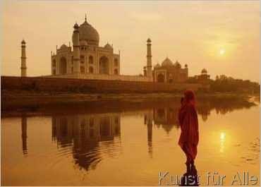 Peter Adams - Taj Mahal, Agra, Indien