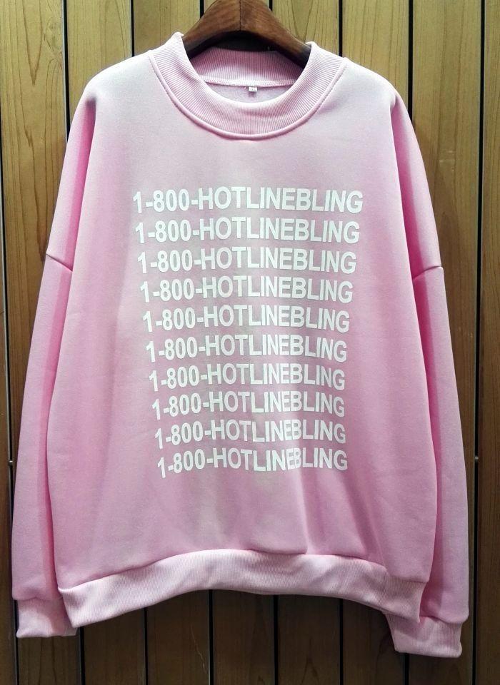 1-800-Hotlinebling Sweater