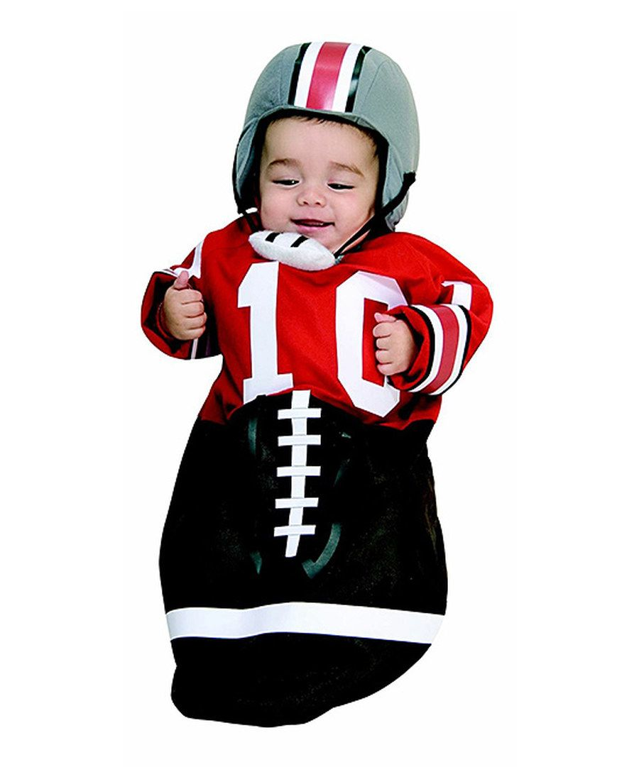 6f605df25 Look at this Red Football Dress-Up Bunting   Hat - Infant on  zulily ...