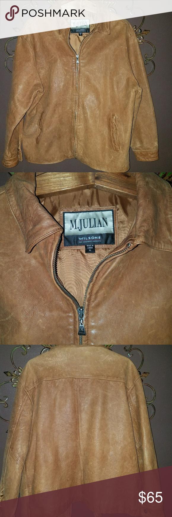 Mens Leather Jacket Mens M Julian Genuine Leather Jacket