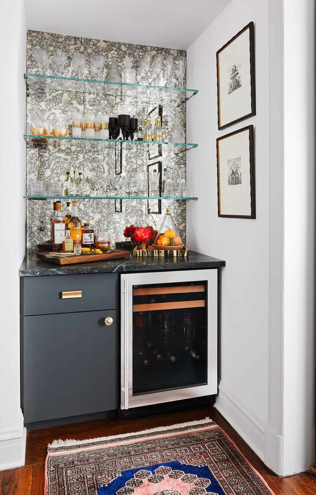 How to Style Your Home Bar: Home Bar Styling Inspiration