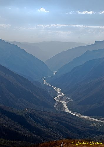 Parque Nacional Del Chicamocha In Santander Colombia Region Of