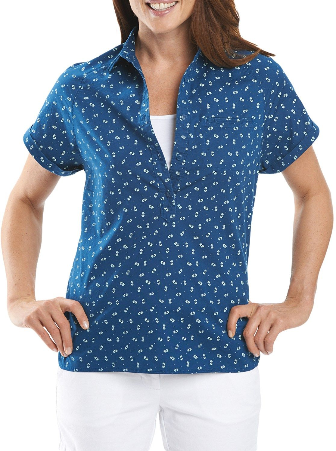 Woolrich Female Spoil Her Printed Popover - Women's