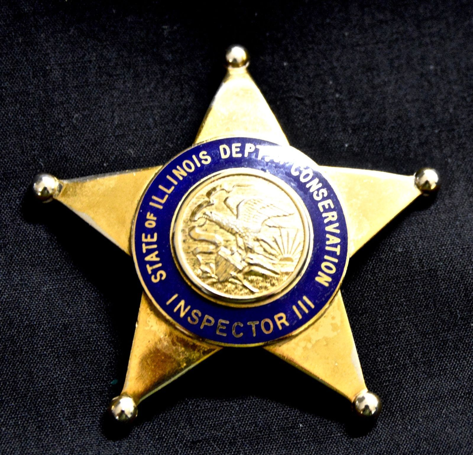 Inspector III, Department of Conservation, States of