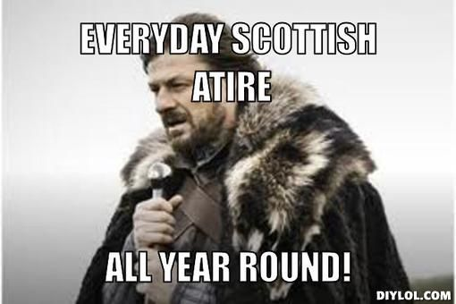 Scotland Weather Humour With Images Winter Is Coming Meme