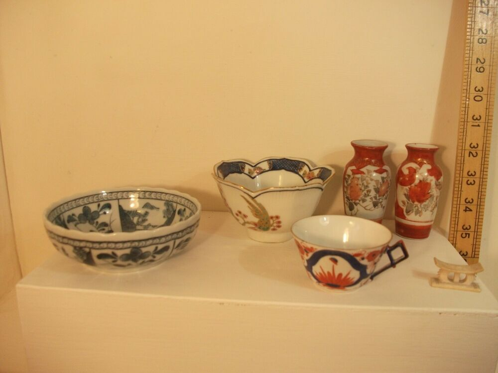 Chinese Porcelain And Japanese Kutani Art Pottery Collection With Images Pottery Art Chinese Porcelain Pottery