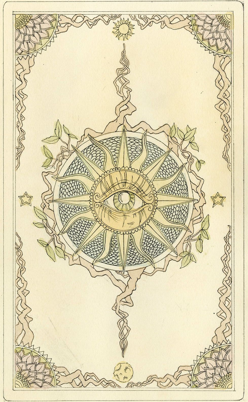 Back Design Of Tarot Cards - Google Search