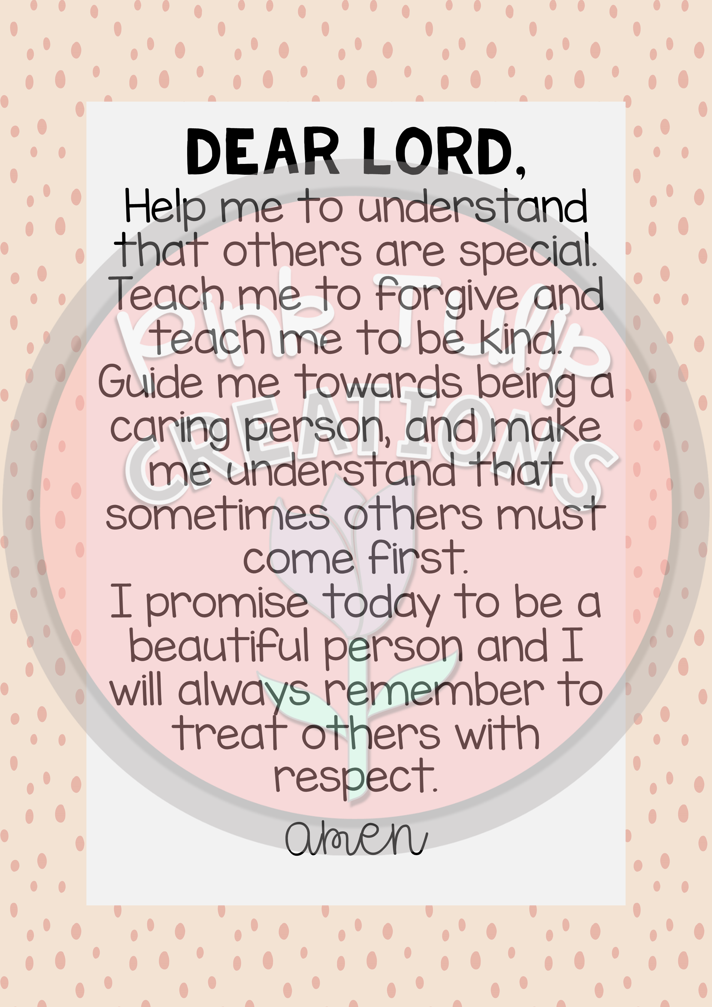 Pack Of 20 Beautiful Catholic Classroom Prayers