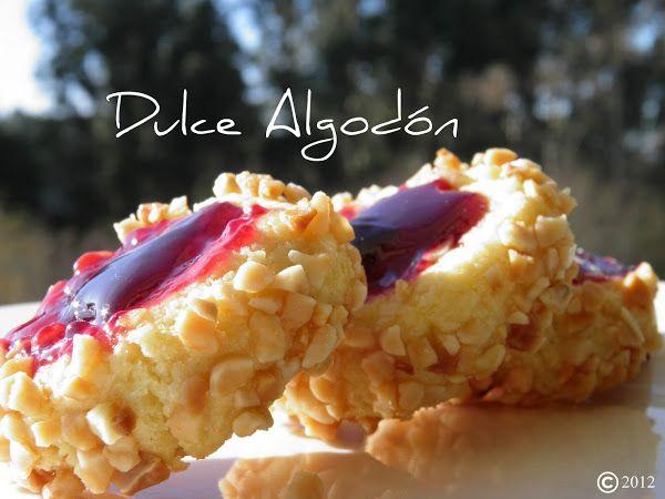 Dulce Algodón: Pastas de mermelada y almendra