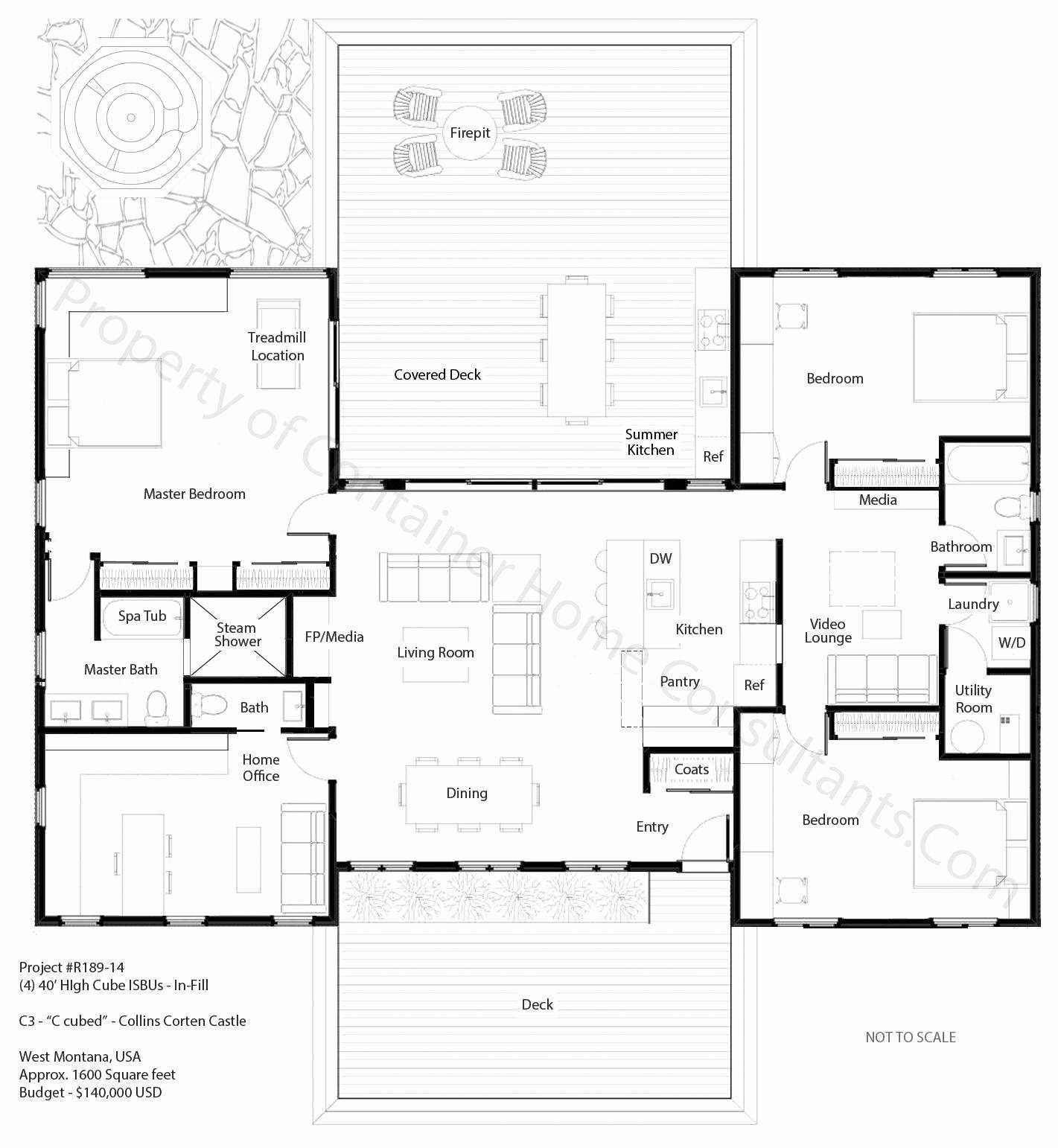 4 Bedroom House Plans Qld New H Shaped Container Home Plan House Planes Pi Container House Plans Shipping Container House Plans Shipping Container Home Designs