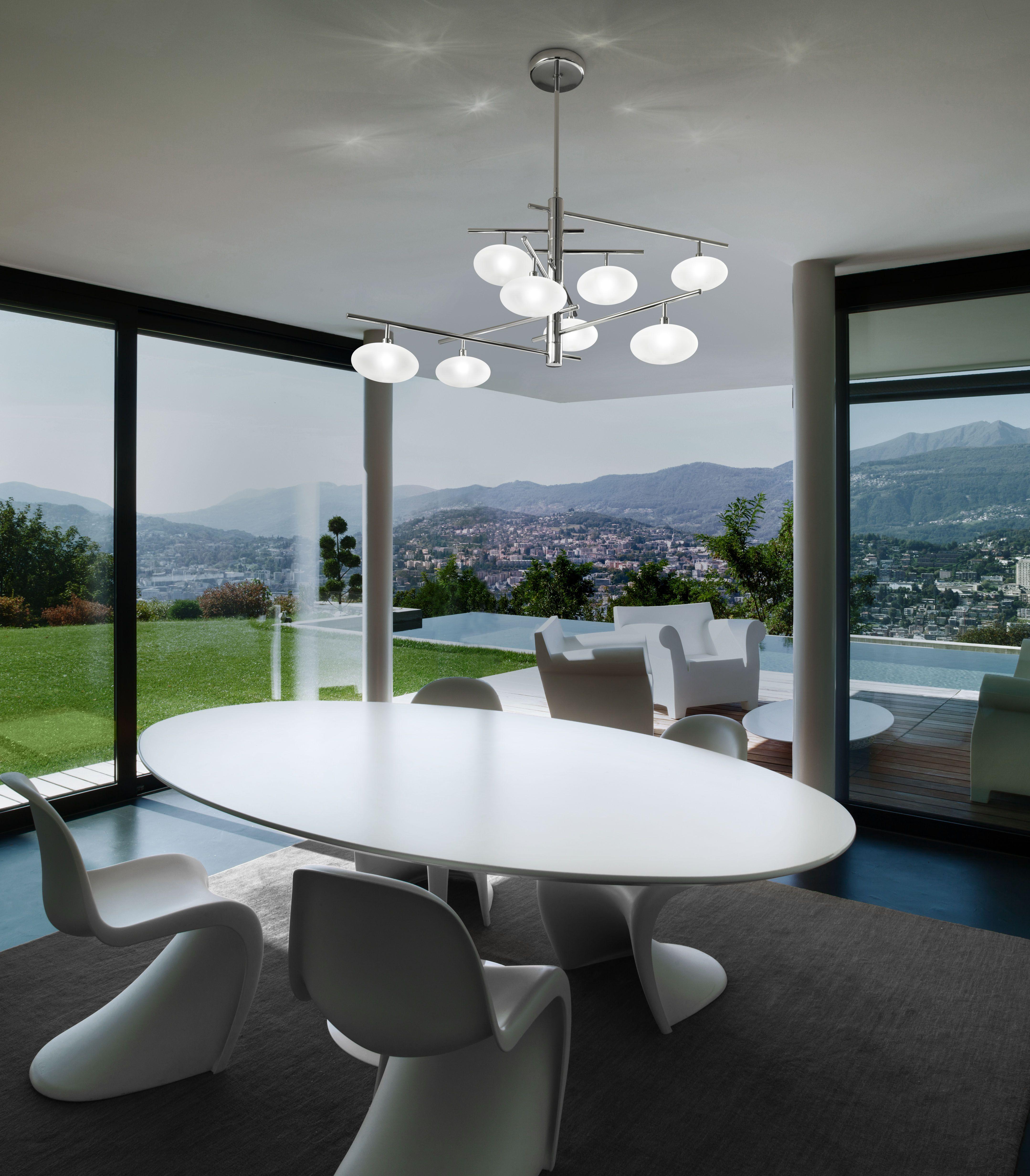 Lampade Sopra Tavolo Da Pranzo dolce: una composizione che disegna nello spazio eleganti