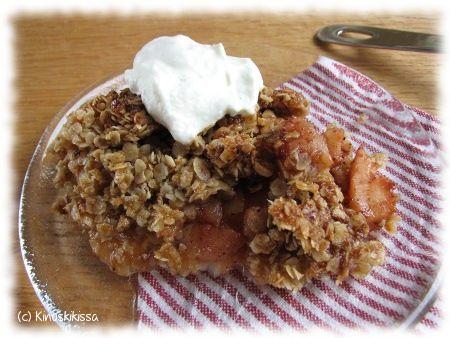 Kaura-omenapaistos | Reseptit | Kinuskikissa