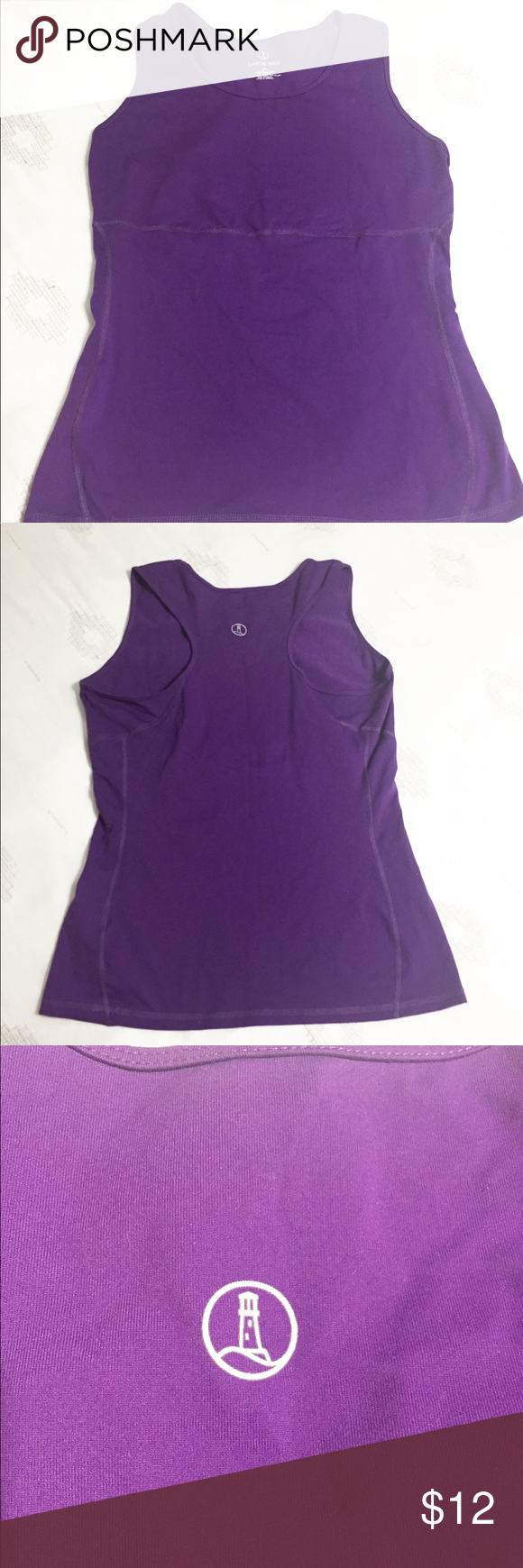 7bf5c761d6287 Lands  End women s purple athletic top. Size 8-10 Lands  End women s purple  athletic top. Size Medium (8-10). Lands  End Tops Tank Tops