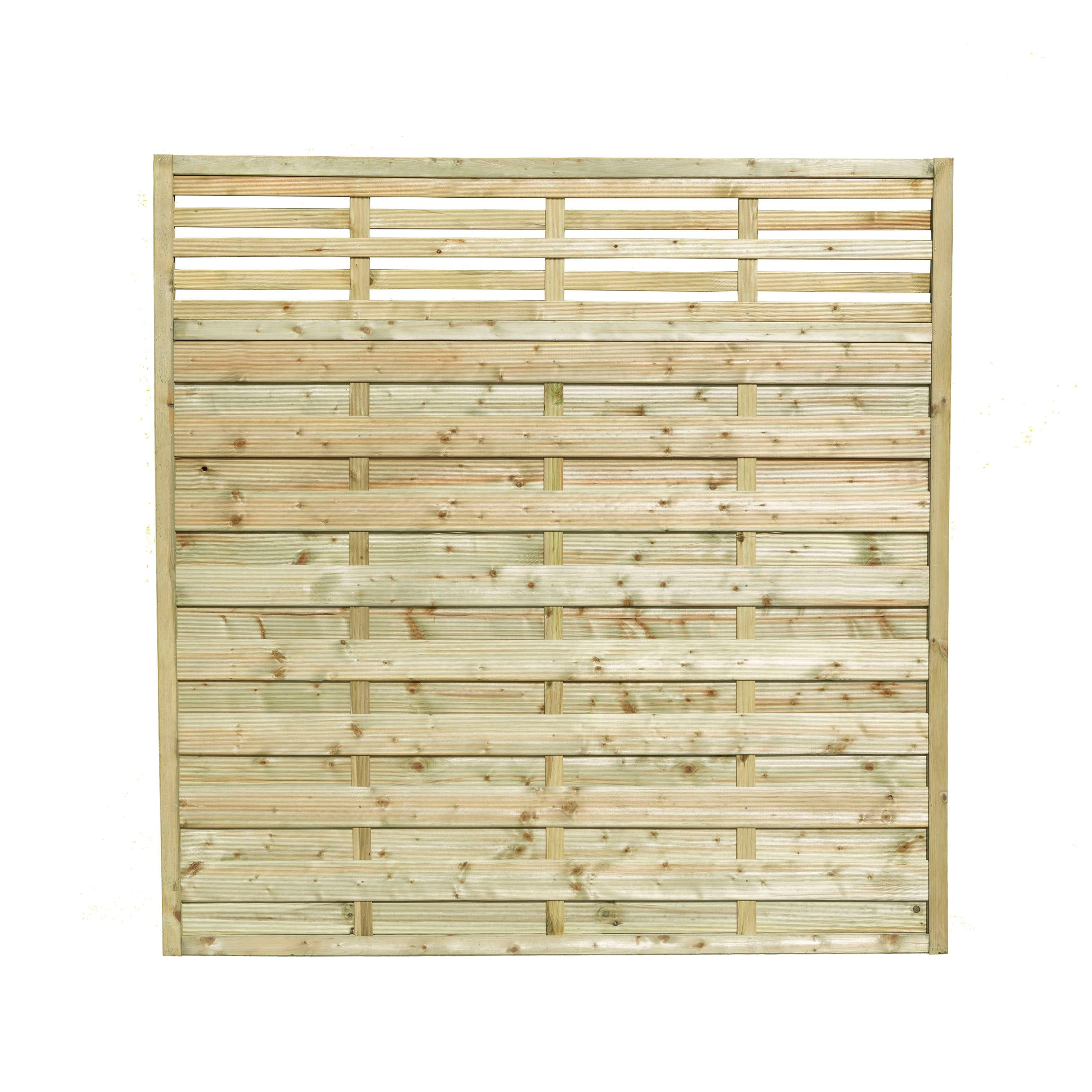 Wickes Kyoto Fence Panel 1 8m X 1 8m 5 Pack Wickes Co Uk Fence Panels Garden Fence Panels Contemporary Fence Panels