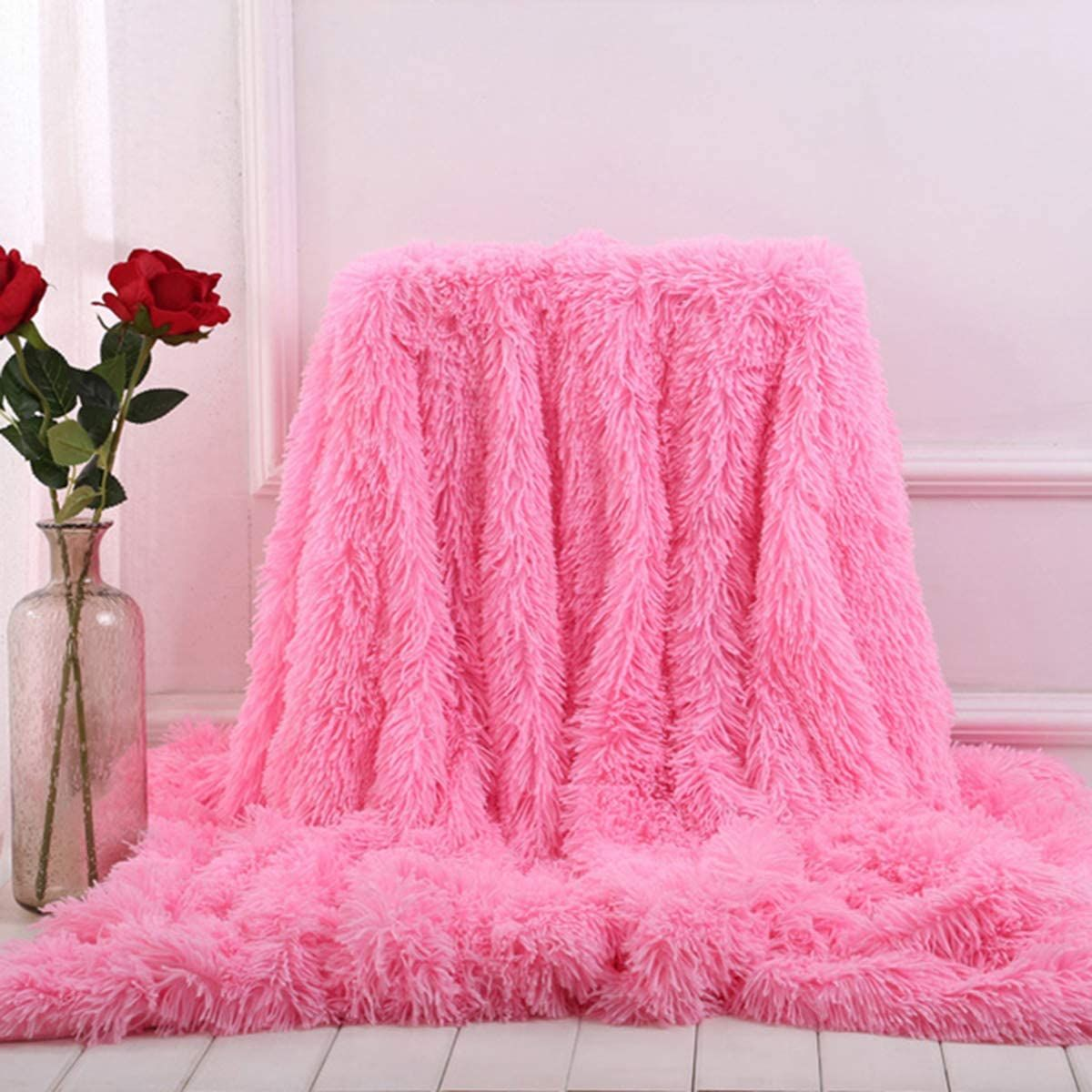 Girls Fluffy Pink Blanket is calling you in 2020 Fluffy