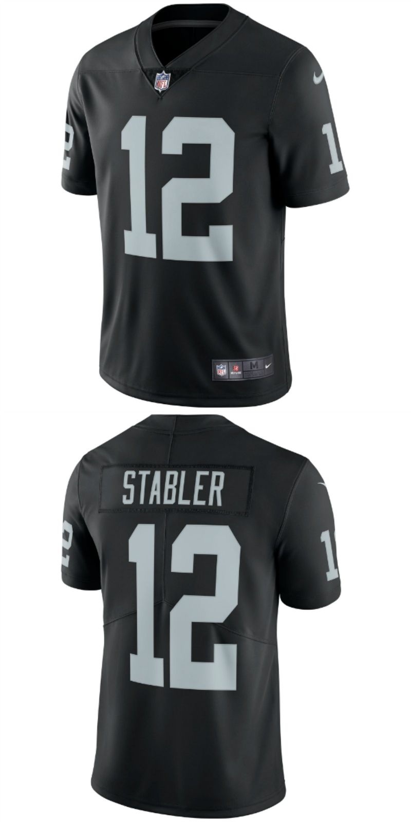 Up To 70 Off Ken Stabler Oakland Raiders Nike Retired Player Vapor Untouchable Limited Throwback Jersey Black Oakland Nfl Oakland Raiders Jerseys Oakla