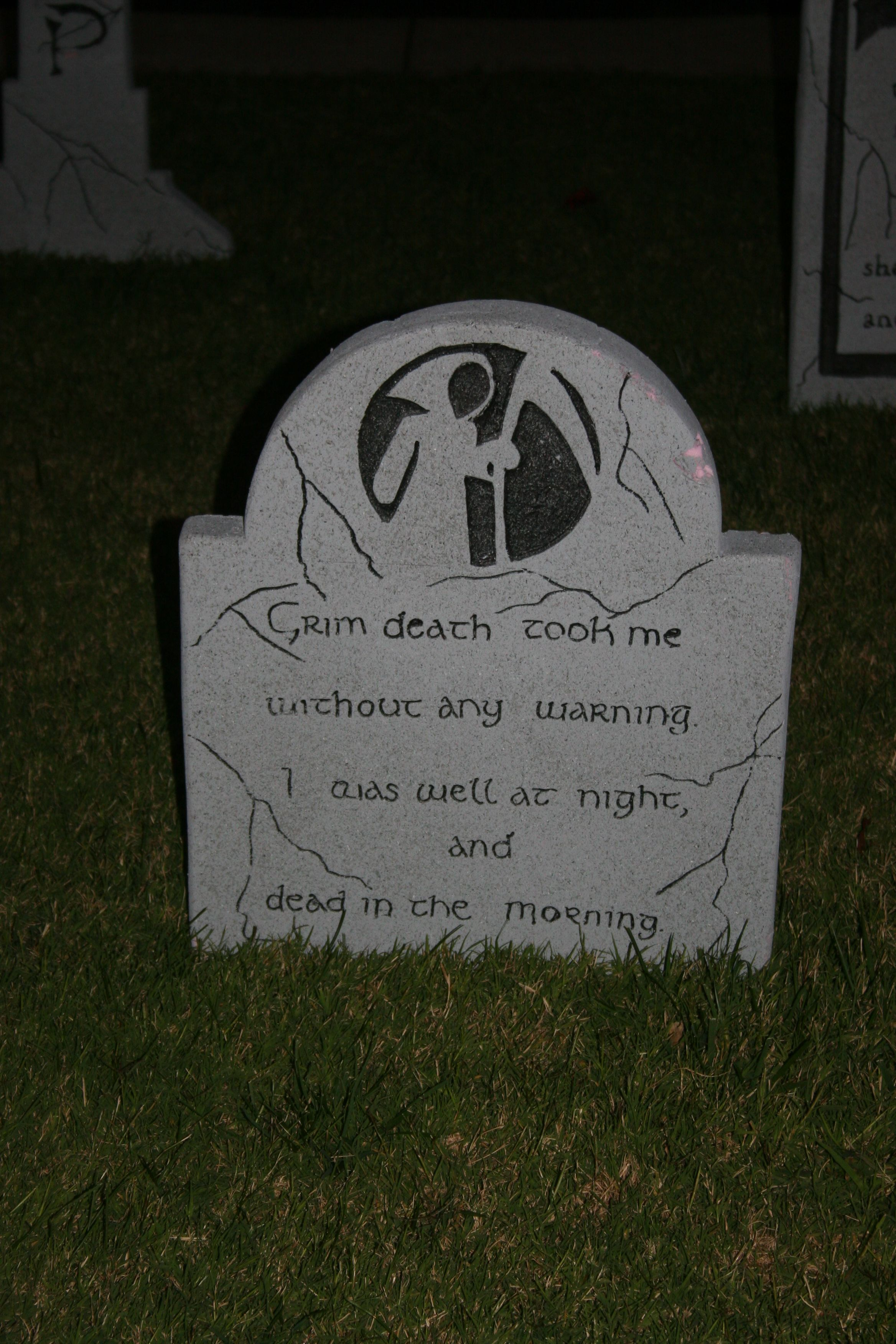 homemade halloween tombstone | halloween | pinterest | halloween