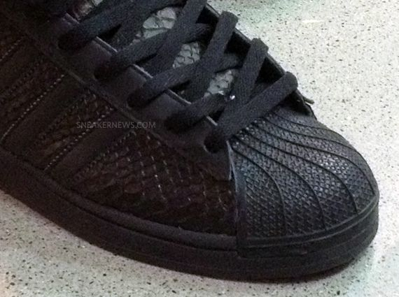 promo code 67692 88b96 Big Sean x adidas Pro Model Black Sample