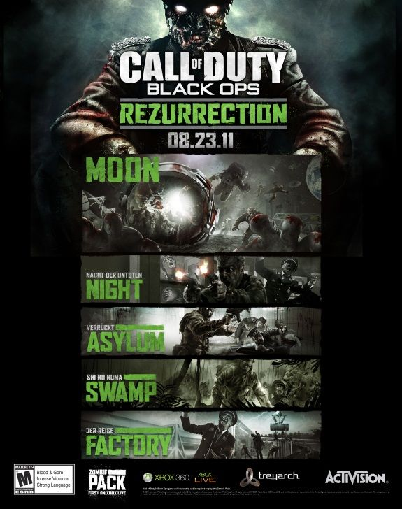Call Of Duty Black Ops Resurrection Map Pack Coming This Month