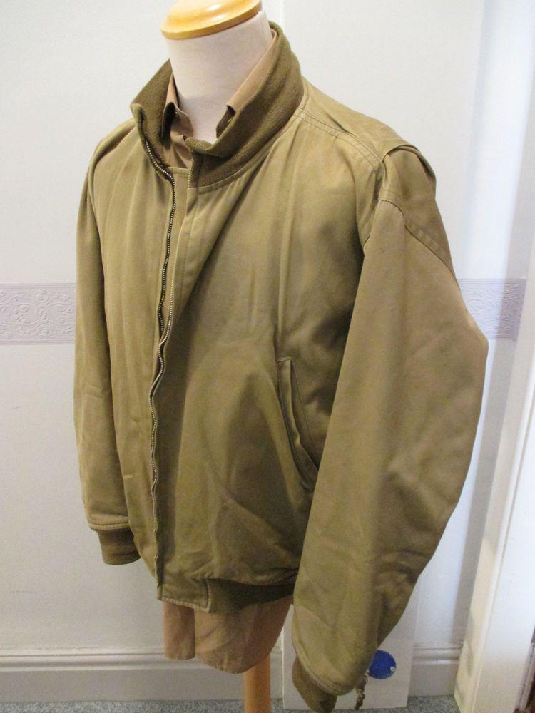 Mens Coat Vintage Tanker Jacket Military Winter Military Combat Uniform BOB DONG