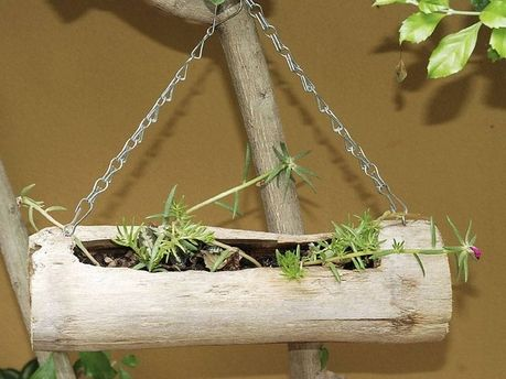 Diy Planter Garden Bamboo Could Make With Other Yard 400 x 300