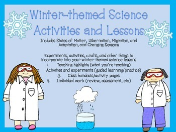 Winter Science Activities | Science activities, Science lessons, Elementary science