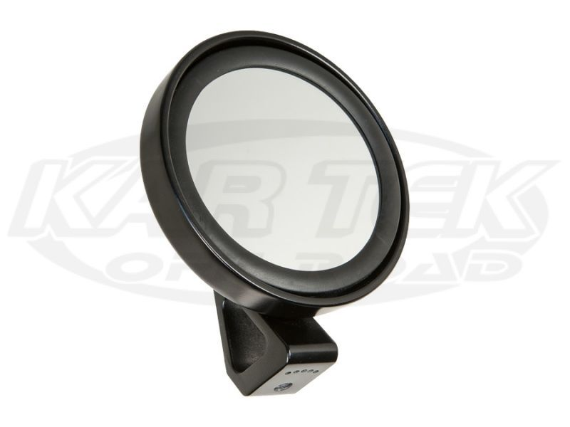 "5"" Round Mirror w/ Housing Flat Mirror - Kartek Off-Road"